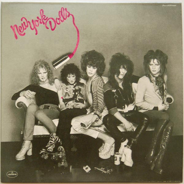 Front cover, New York Dolls - New York Dolls