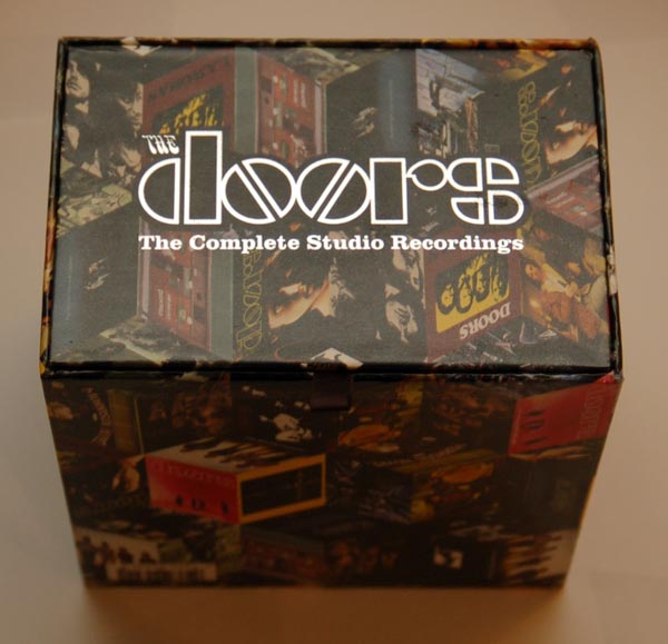 Box Tittle View, Doors (The) - The Complete Studio Recordings Box Set