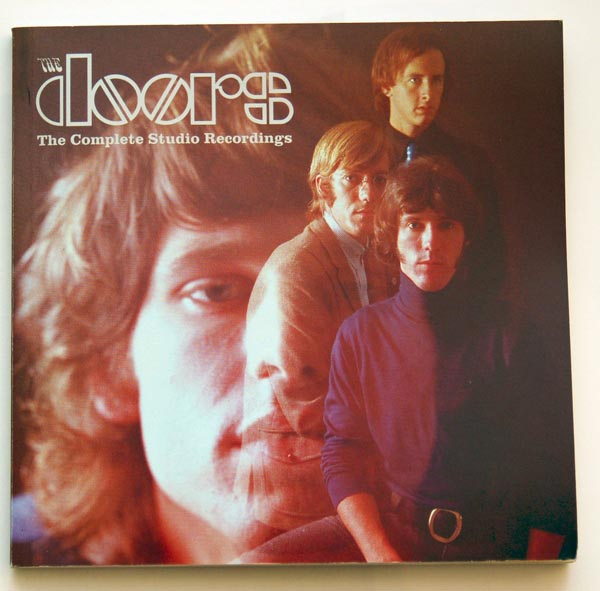 Booklet included inside the box, Doors (The) - The Complete Studio Recordings Box Set
