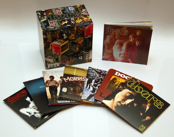 Box set contents, Doors (The) - The Complete Studio Recordings Box Set