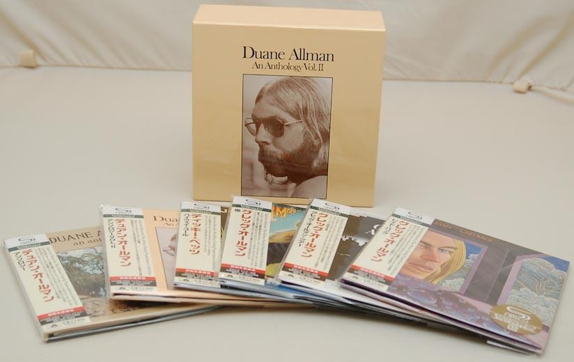 Box contents, Allman, Duane - Anthology Vol.2 Box