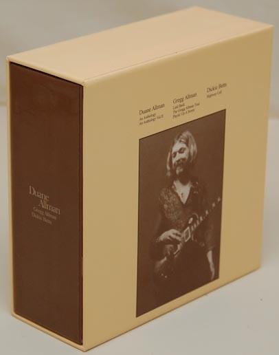 Back Lateral View, Allman, Duane - Anthology Vol.2 Box