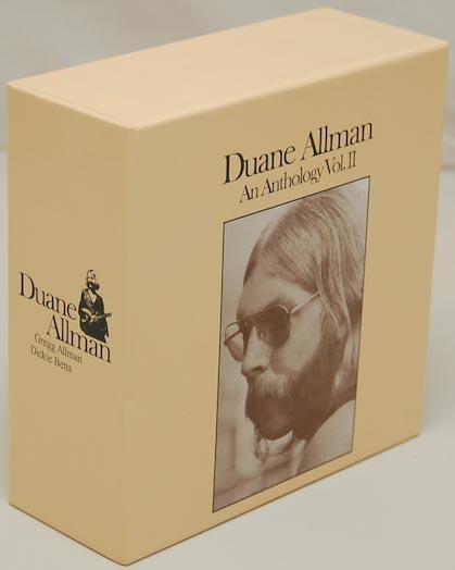 Front Lateral View, Allman, Duane - Anthology Vol.2 Box