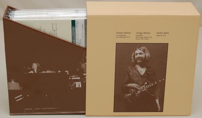 Open Box View 2, Allman, Duane - Anthology Vol.2 Box