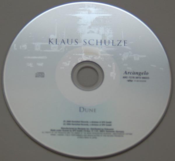 CD, Schulze, Klaus  - Dune