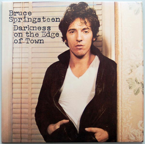Front cover, Springsteen, Bruce - Darkness On The Edge Of Town