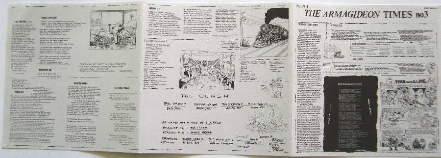 Poster, Clash (The) - Sandanista!