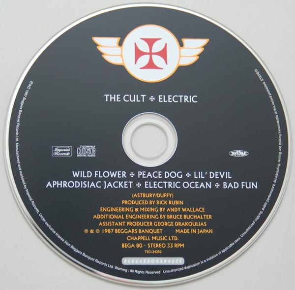 CD, Cult (The) - Electric