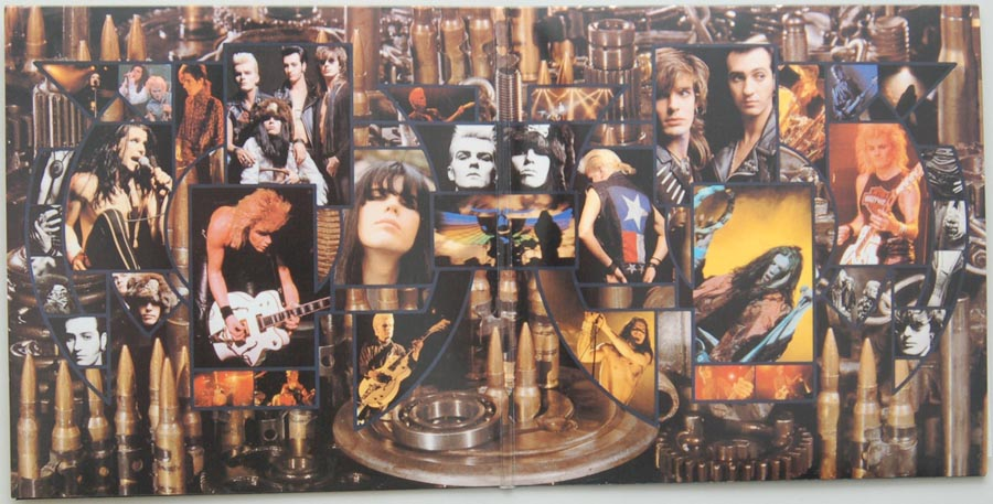 Gatefold open, Cult (The) - Electric