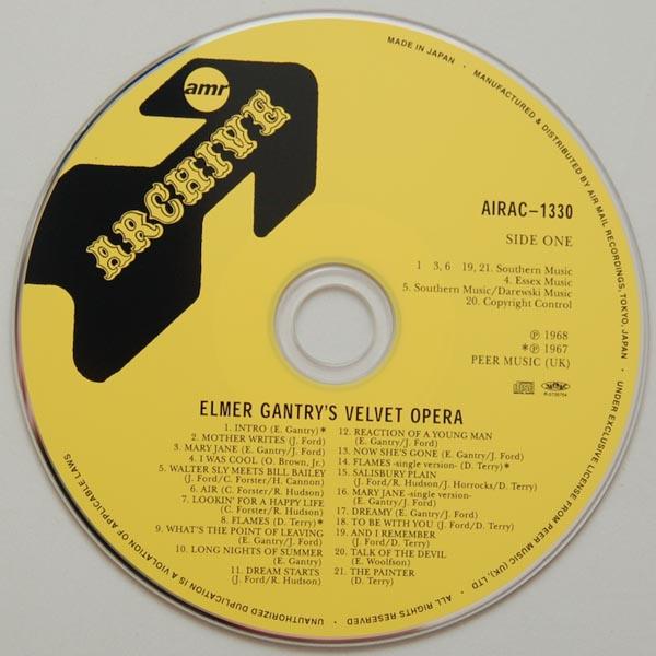 CD, Gantry, Elmer Velvet Opera - Elmer Gantry's Velvet Opera