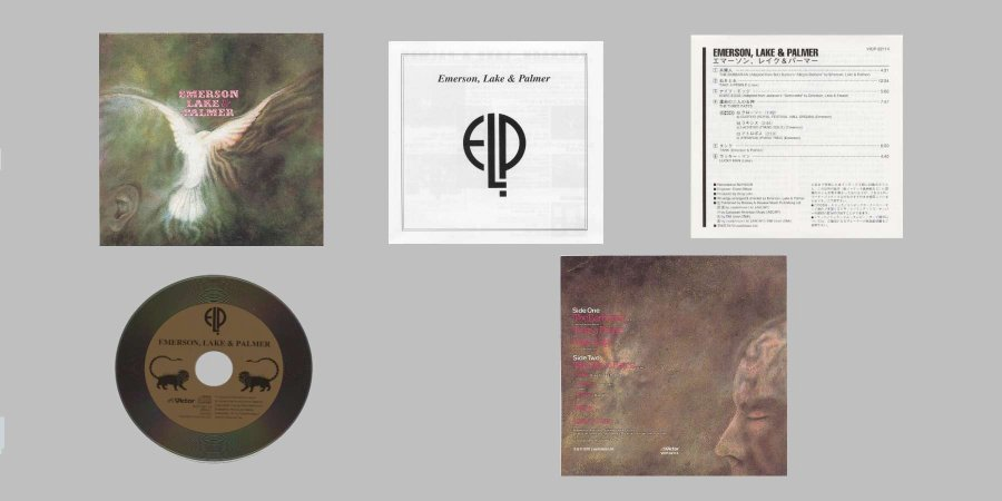 contents, Emerson, Lake + Palmer - Emerson, Lake and Palmer