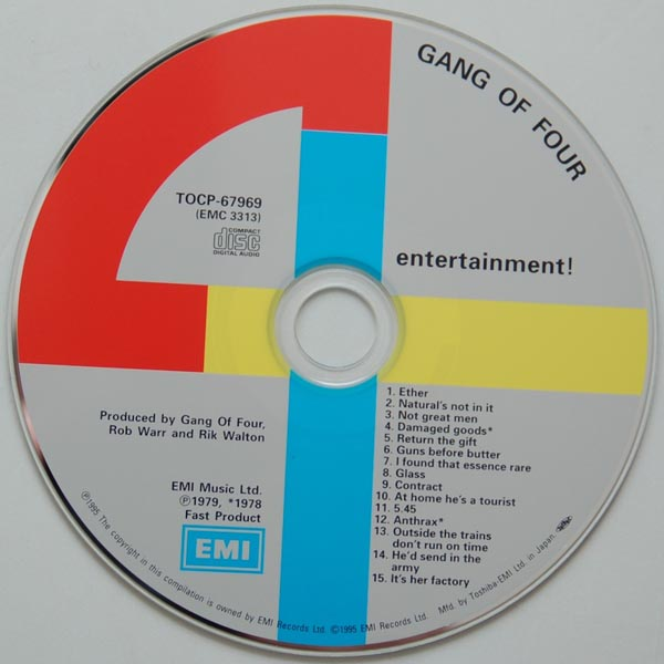 CD, Gang Of Four - Entertainment