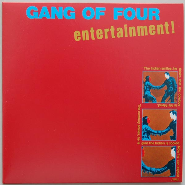 Front Cover, Gang Of Four - Entertainment