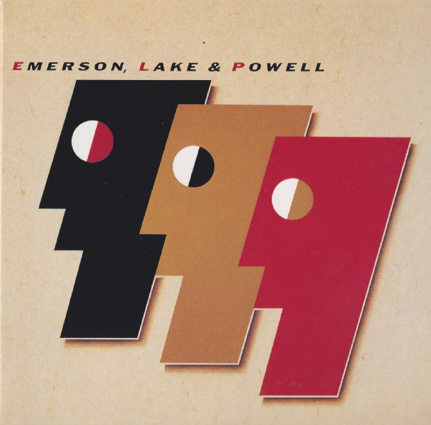 front, Emerson, Lake + Powell - Emerson, Lake and Powell