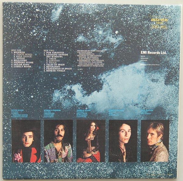 Back cover, Carmen - Fandangos In Space