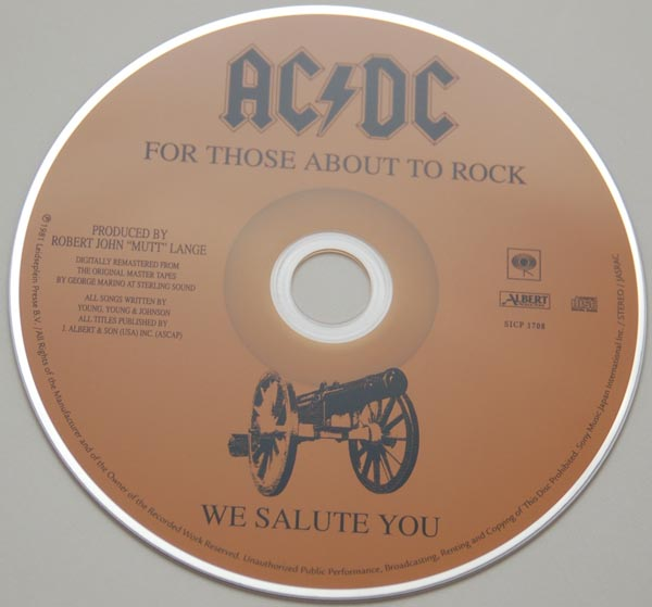 CD, AC/DC - For Those About To Rock We Salute You