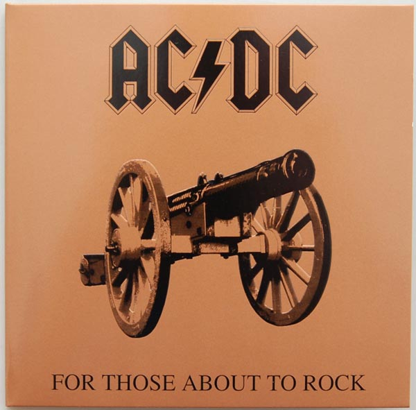 Front Cover, AC/DC - For Those About To Rock We Salute You