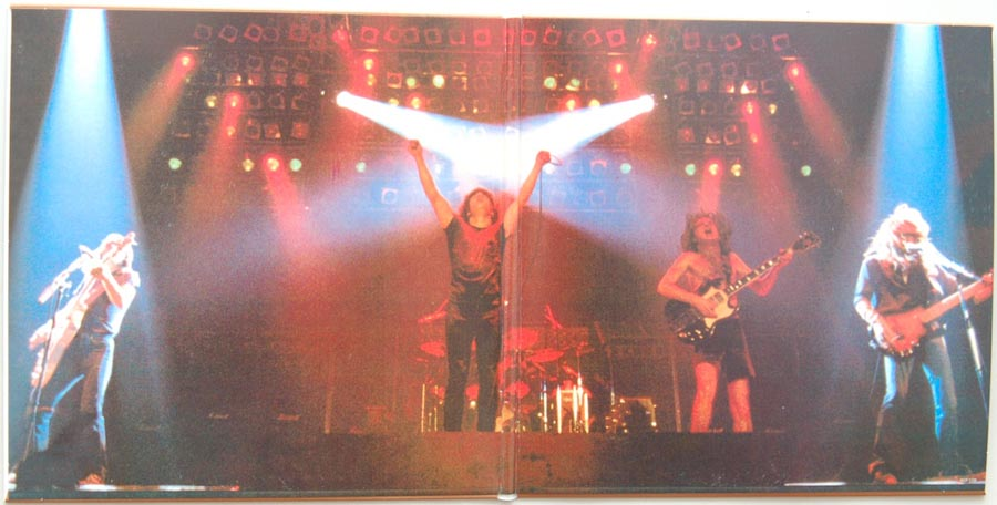 Gatefold open, AC/DC - For Those About To Rock We Salute You
