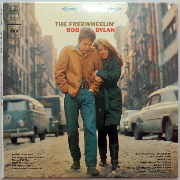 Front cover, Dylan, Bob - The Freewheelin' Bob Dylan