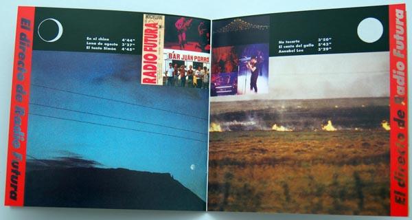 Booklet pages 12-13, Radio Futura - Caja de Canciones
