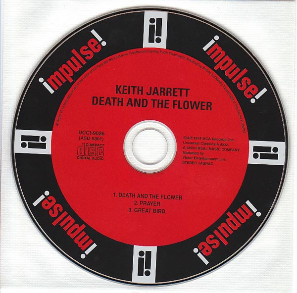 CD, Jarrett, Keith - Death and The Flower