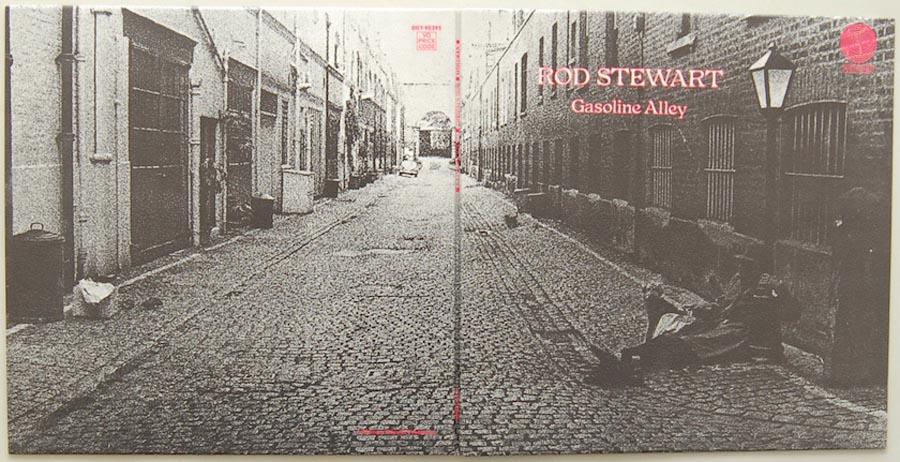 Cover unfold, Stewart, Rod - Gasoline Alley