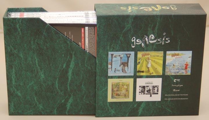 Open Box 2, Genesis - 1970-1975 Box