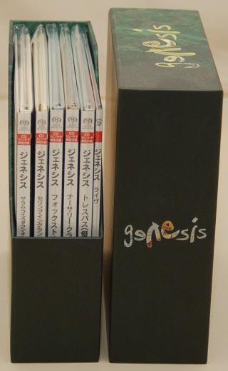 Open Box 3, Genesis - 1970-1975 Box
