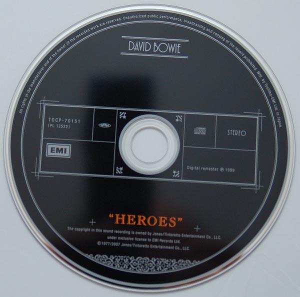 """CD, Bowie, David - """"Heroes"""""""