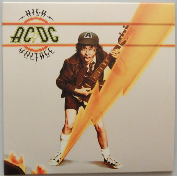 Front Cover, AC/DC - High Voltage