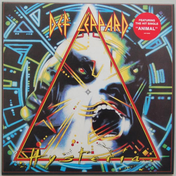Front Cover, Def Leppard - Hysteria