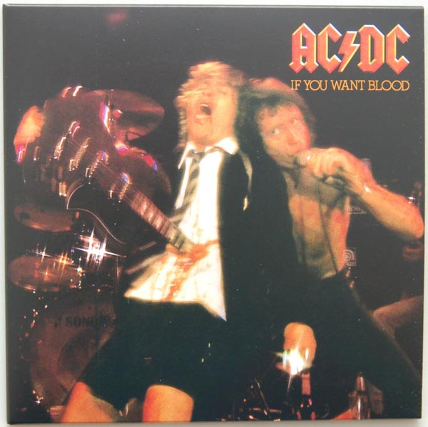 Front Cover, AC/DC - If You Want Blood You've Got It