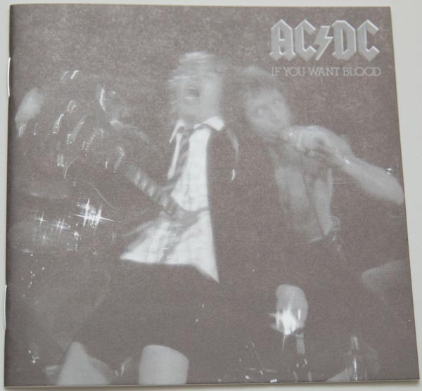 Lyric book, AC/DC - If You Want Blood You've Got It