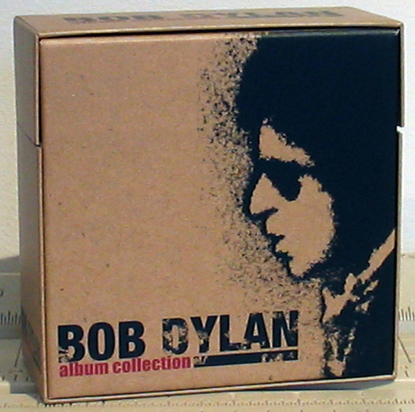 Back of Box, Dylan, Bob - Album Collection Box