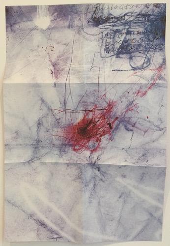 Poster back, Sylvian, David & Fripp, Robert - Damage