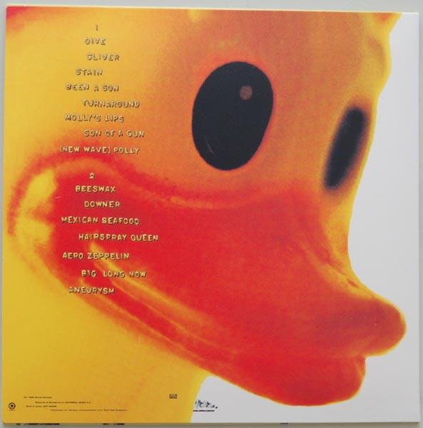 Back cover, Nirvana - Incesticide