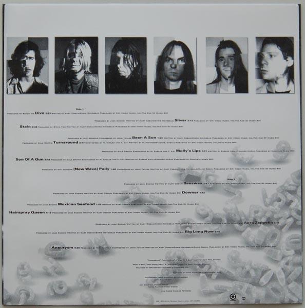Inner sleeve side B, Nirvana - Incesticide