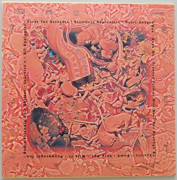 Back cover, Nirvana - In Utero