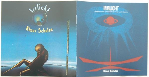 Booklet, Schulze, Klaus  - Irrlicht
