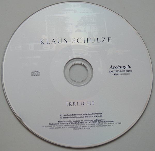 CD, Schulze, Klaus  - Irrlicht