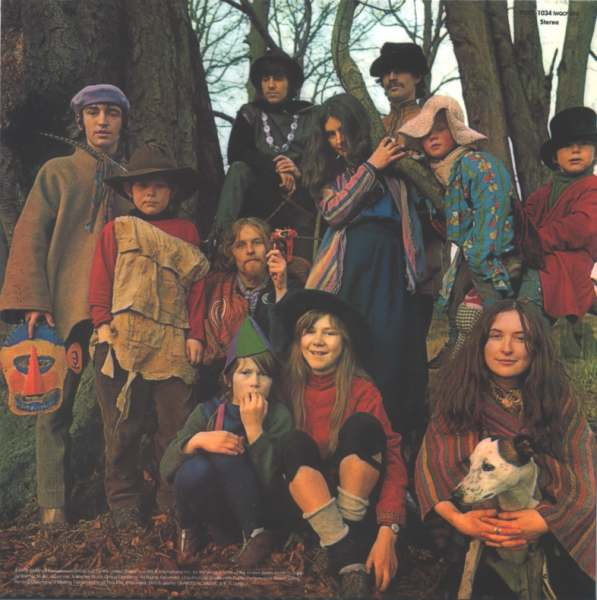 Back cover, Incredible String Band (The) - The Hangman's Beautiful Daughter