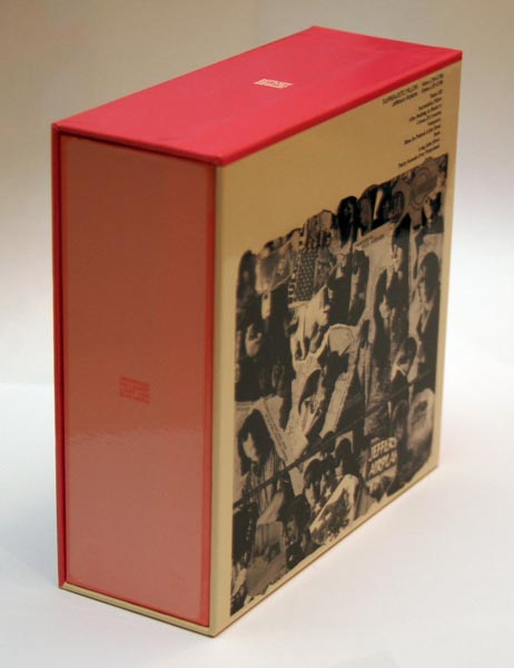 Back-Lateral view, Jefferson Airplane - Surrealistic Pillow Box