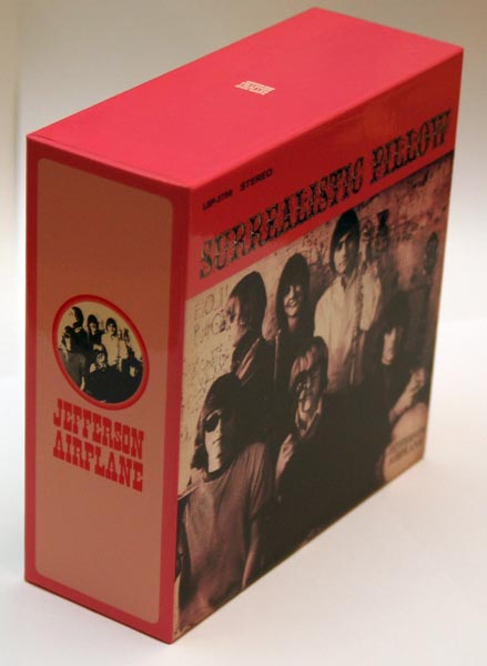 Front-Lateral view, Jefferson Airplane - Surrealistic Pillow Box