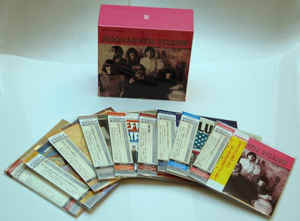 Box set contents, Jefferson Airplane - Surrealistic Pillow Box