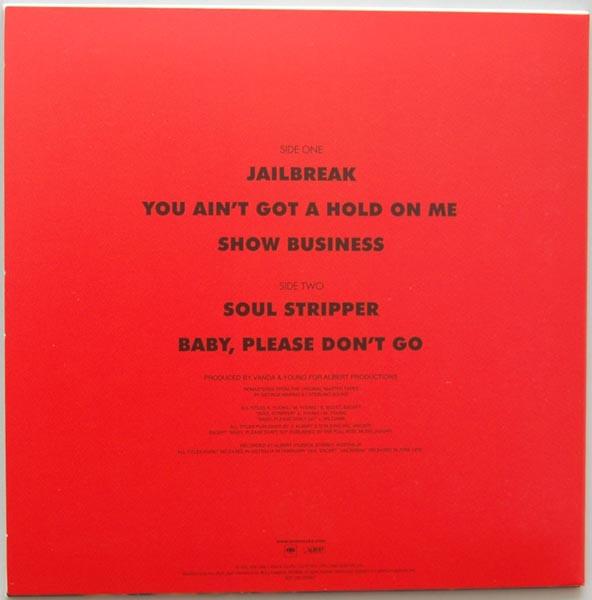 Back cover, AC/DC - Jailbreak