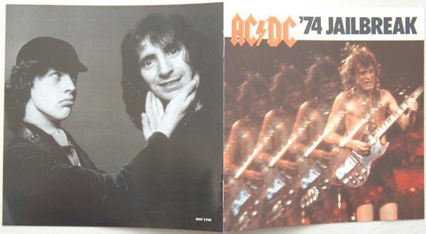 Booklet, AC/DC - Jailbreak