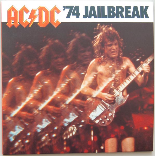Front Cover, AC/DC - Jailbreak