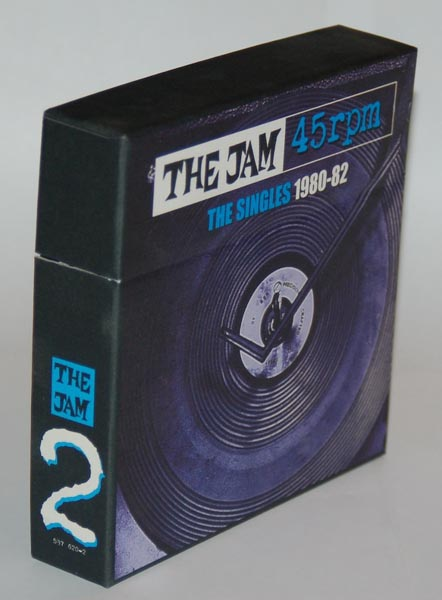 Front-lateral view, Jam (The) - 45rpm The Singles 1980-82 v.2