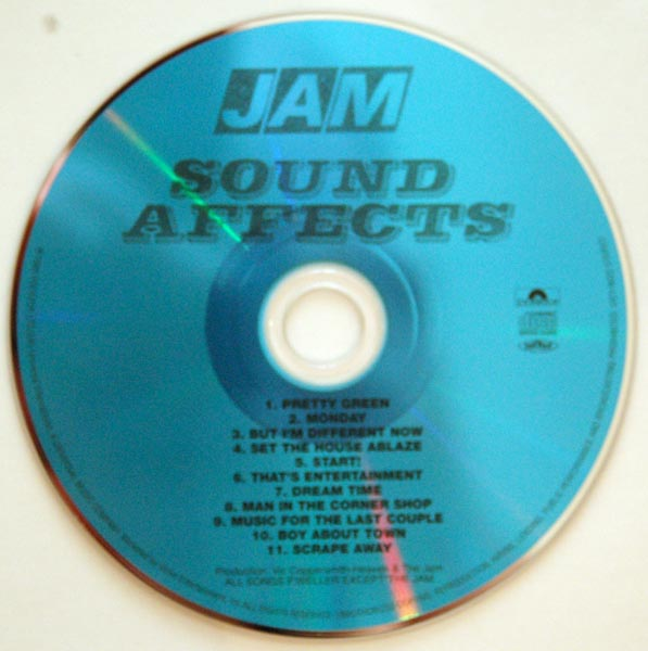 CD, Jam (The) - Sound Affects