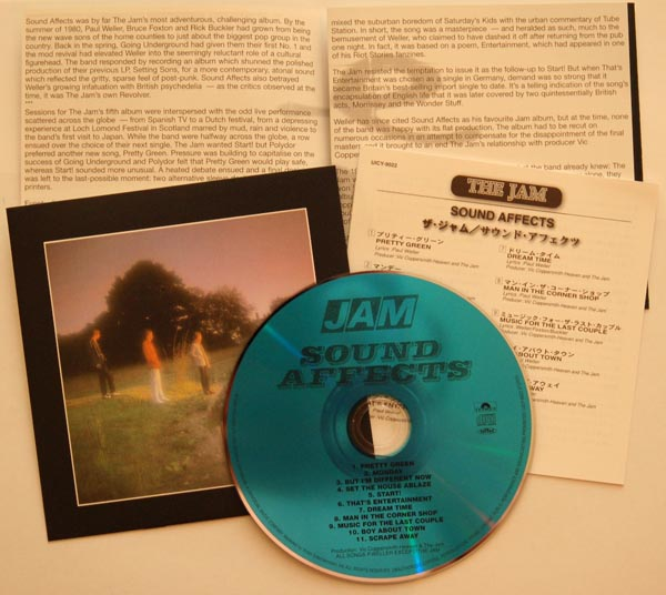 CD and inserts, Jam (The) - Sound Affects